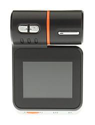 Mini HD 1080P Grand Angle 4 Nuit à LED Affichage numérique voiture DVR camcorde - Noir