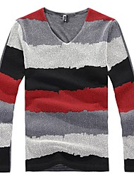 Men's Tie Dye Stripe Shirt