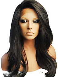 16Inch 100% Human Hair 130% Density 4x4 Silk Top Glueless Super Wave Full Lace Wigs