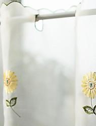 """Motif Sélection Style frais Belle chrysanthème Valance (17 """"L x 69"""" W)"""
