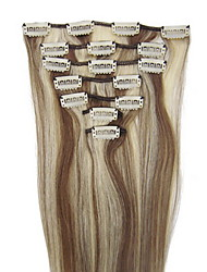 26inch 8pcs/set Indian Clip-in Hair 105g For full Head(More Colors Available)