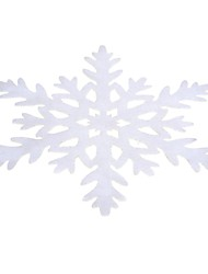 New Arrival Snowflake Shape Non-Woven Fabrics Placemat