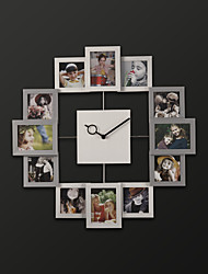 "19.75""H Modern Style Novelty Shape Wall Clock"