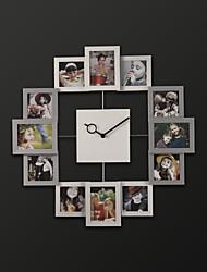 "19.75 ""Modern Style H Forma Novidade relógio de parede"