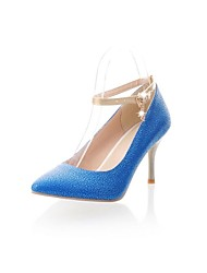 PU  Women's  Pointed Toe Stiletto Heel Pumps Party / Evening/Wedding  Shoes More Colors
