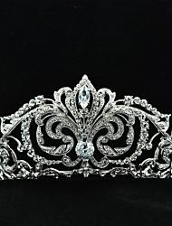 7cm boda tiara nupcial con cristal Rhinestones de Austria y circón