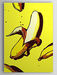 Stretched Canvas Art Pop Art Food Funny Bananas Ready to Hang