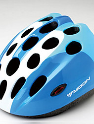 MOON Cycling Blue PC/EPS 21 Vents Honeycomb Helmet for children