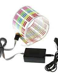 Autocollant de voiture Rhythm flash LED lampe sonore activé Equalizer