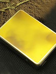 Personnalisé jaune gravé USB Briquet électronique