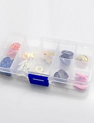 Classic Transparent Rectangular Storage Box - 10 Grids