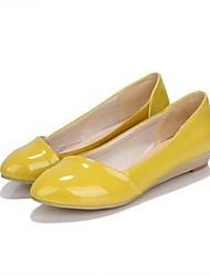 New  Fashion Top Quality PU Upper Non-slip Pure Color  Flat    (More Colors)