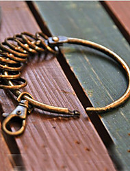 Wristband Shaped Bronze Key Ring