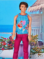 Barbie Prince Colorful Map Pattern Holiday Casual Suit