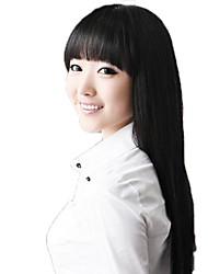 Moda donna lungo rettilineo sintetiche completa Bang Parrucche 4 colori disponibili