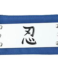 Naruto Fascia Cosplay Bandana Ninga Blue Headband