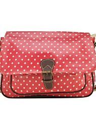 Stars impressão Mulheres Satchel Messenger Bag Moda Bolsas de Ombro