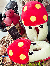Creative Red Mushroom Wool Women's Slide Slipper