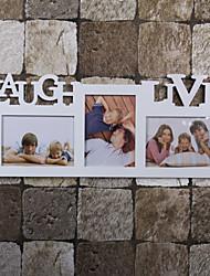"""9.75 """"Cadre H de style contemporain mur de photos"""