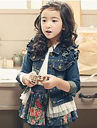 Girl's Demin Lace Jackets & Coats