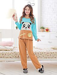 Mulheres Panda Padrão costura Wear Salão