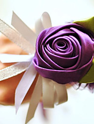 Wedding Flowers Hand-tied Roses Wrist Corsages Wedding / Party/ Evening