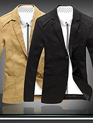 Men's Fashion Suit Jacket Casual Blazer Coat