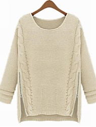 Women's  Vintage Loose Thick Sweater