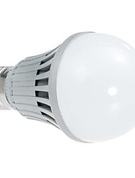 Lampadine globo 14 SMD 3528 A60 E26/E27 5 W 380LM LM Bianco AC 220-240 V
