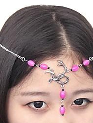 Retro Serpente Moda Headband (cor aleatória)