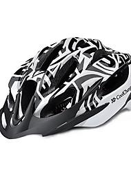 CoolChange EPS Black Integrally-molded Cycling Helmet