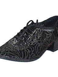 Women's Leatherette & Mesh Upper Ballroom/Modern Dance Shoes