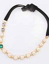 Perle de mode de chaîne cravate bandeaux de btime femmes