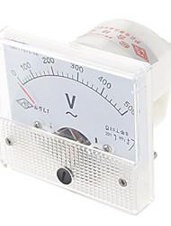 Analoge DC 500V Voltage Panel Meter (White)