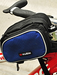 CoolChange 600D Waterproof Blue Bicycle Front Tube Bag