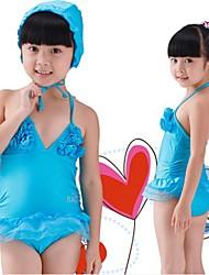 Vivid Símbolo do Coração Cor Swimwear da menina