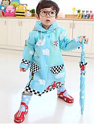 Hugmii Children's Lovely Environmeantal Protection Raincoat