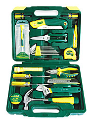55 Pcs Metal Garden Tools Set Vehicle Toolbox