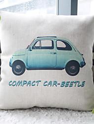 прекрасный голубой жук автомобиля декоративные подушки крышки