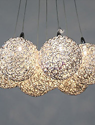 Ceiling Lamp Light Decorative Patterns Aluminum Crystal Lamp