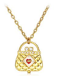 Женская сумка Pattern Кварцевые аналоговые Ожерелье Watch
