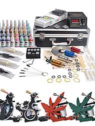 Komplette Tattoo Kits 40 4 Maschinen Tattoo Farben