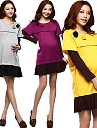 2014 New Fashion Spring and Autumn Maternity Clothing Nursing Dress Long-sleeve