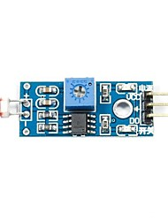 1-Way Photo Resistor Sensor Module for (For Arduino) (Works with Official (For Arduino) Boards)