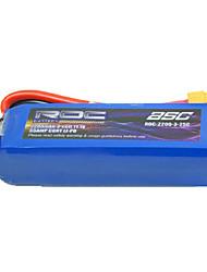 ROC 11.1V 2200mAh 25C Li-Po batterie (XT60 Plug)