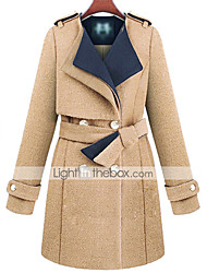 Women's Coats & Jackets , Tweed Casual Pinklady