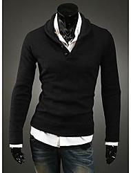 Herren Spring Fashion Pullover Strick