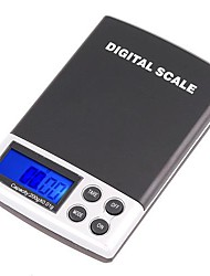 200g x 0,01 g Mini Digital Pocket Escala de joyas GRAM LCD