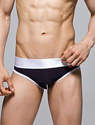 Herren dicke Taille Line Black Panties