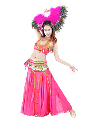 Belly Dance Women's Training Polyester Natural